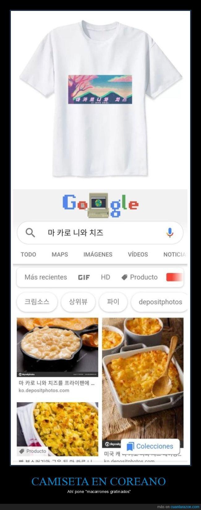 aliexpress,camiseta,coreano,fails,macarrones gratinados