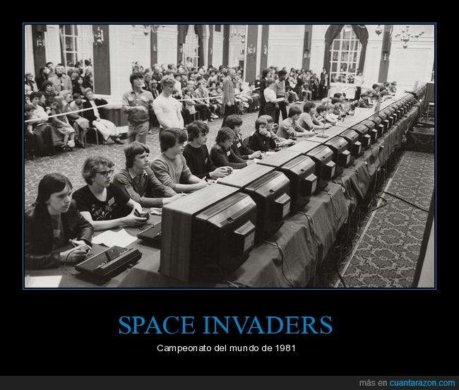 campeonato,retro,space invaders