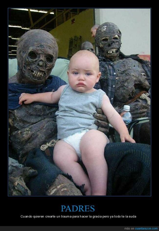 bebé,cadáveres,careto,wtf