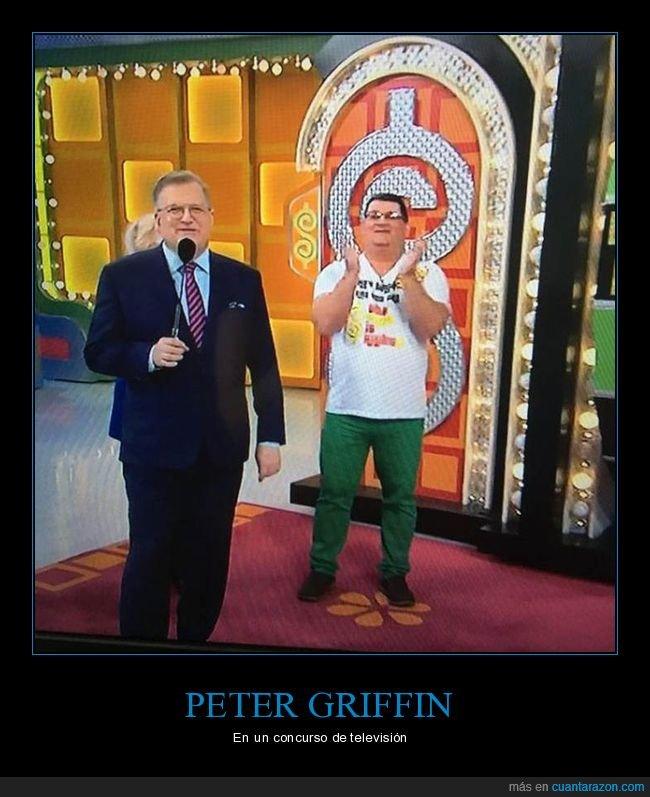 concurso,padre de familia,parecidos,peter griffin