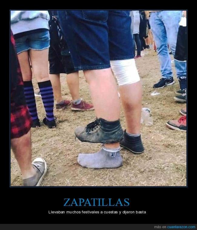 fails,festival,zapatilla