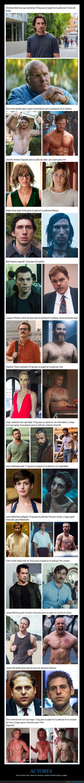 actores,adelgazar,engordar