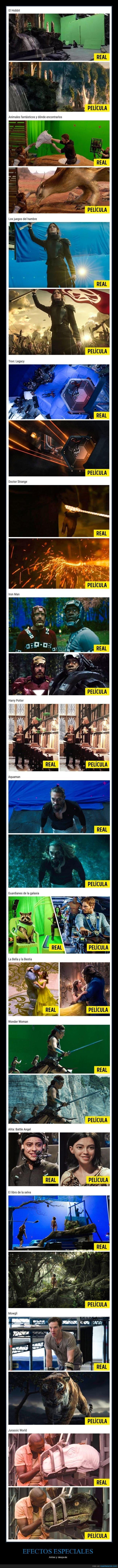 antes,cine,después,efectos especiales,películas
