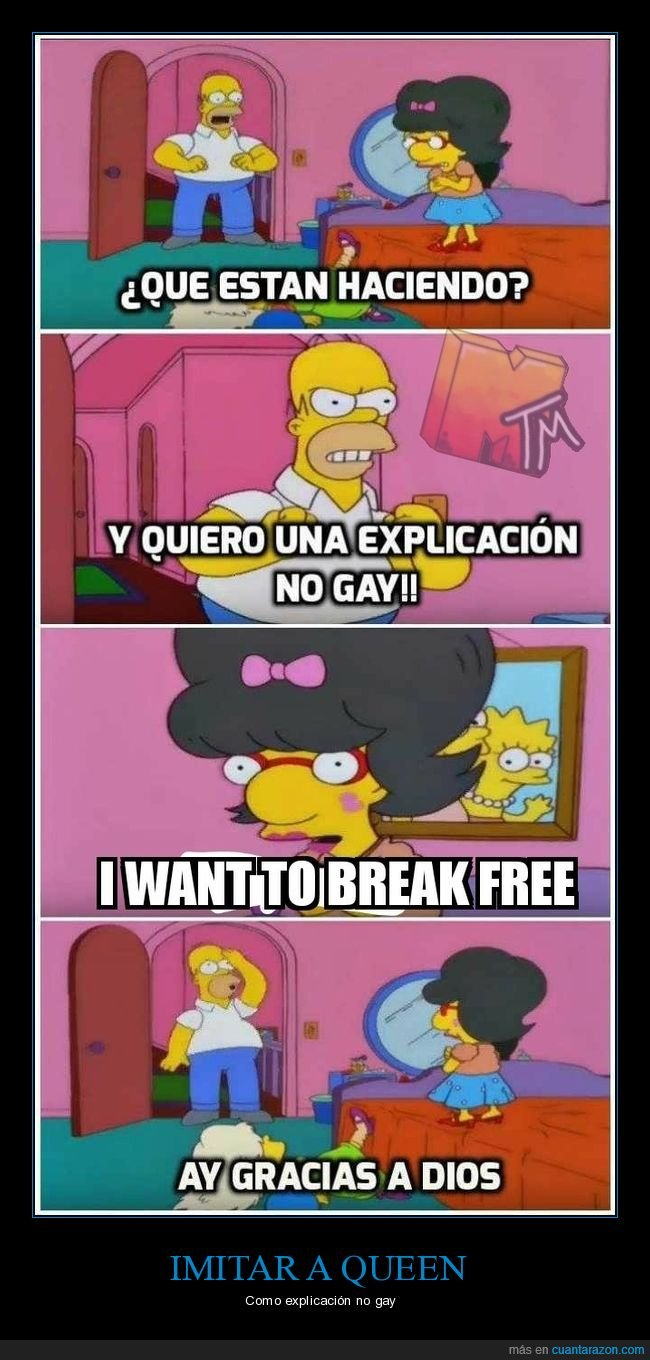 bart,explicación,gay,homer,milhouse,queen