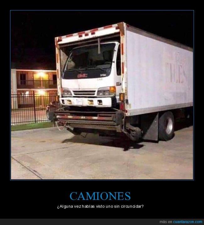 absurdo,camión,circuncidar