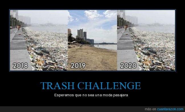 basura,playa,trash challenge
