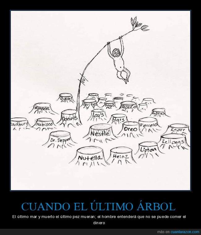 árboles,capitalismo,dinero,naturaleza