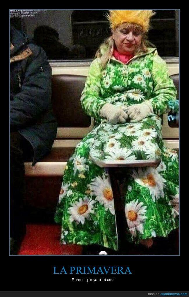 metro,primavera,señora,wtf