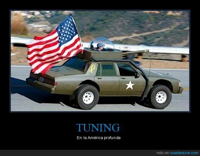 bandera,coche,eeuu,tuning,wtf