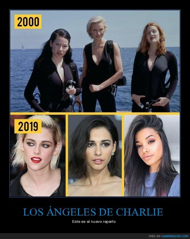 los ángeles de charlie,remake,reparto