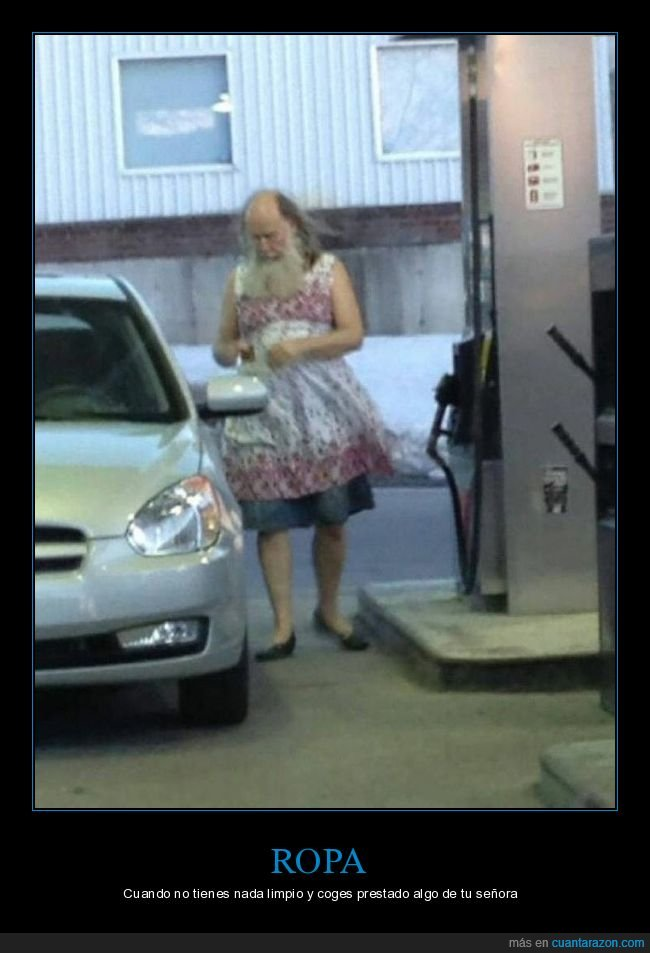 gasolinera,ropa,vestido,wtf