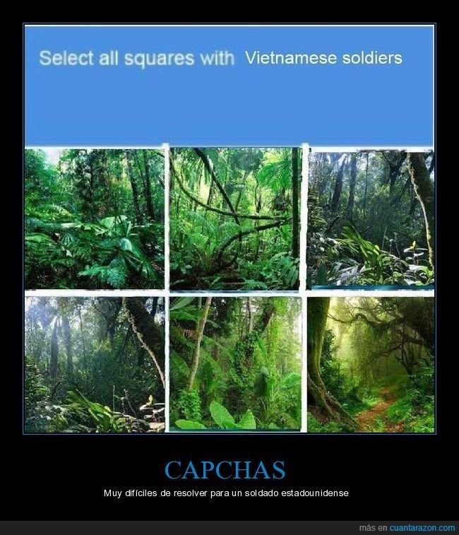 capcha,selva,soldados,vietnamitas