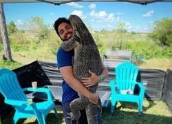 Enlace a Amor de reptil