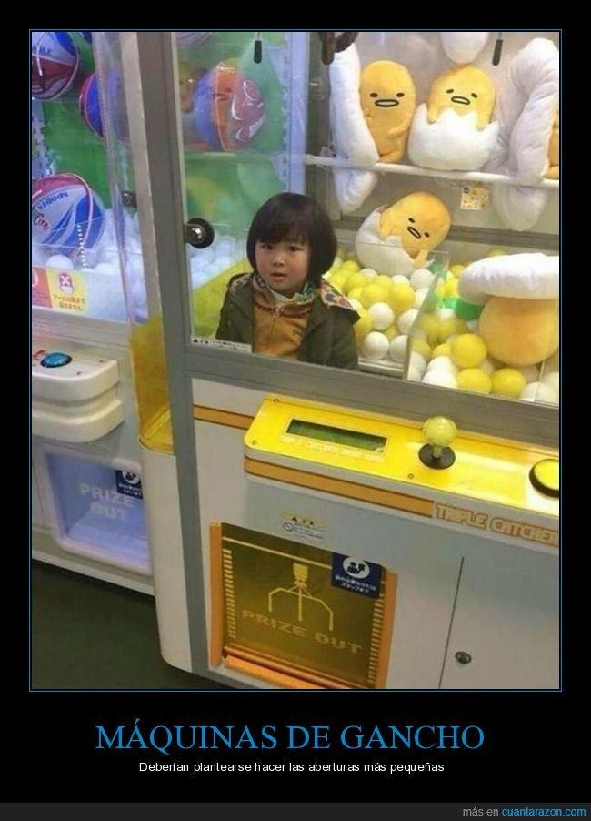 atrapado,máquina de gancho,niño