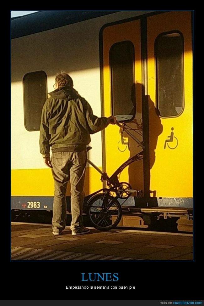 bicicleta,fails,puerta,tren
