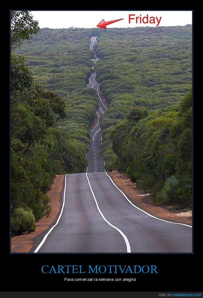 carretera,viernes