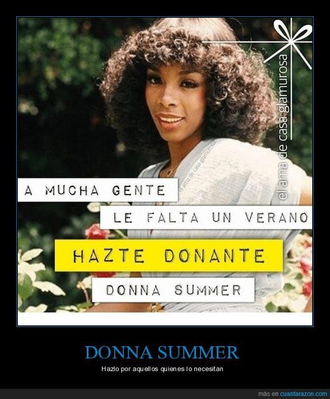absurdo,donar,donna summer,verano