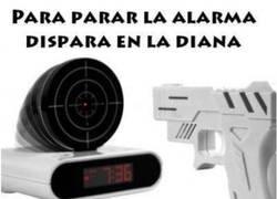 Enlace a Una alarma no apta para soldados imperiales