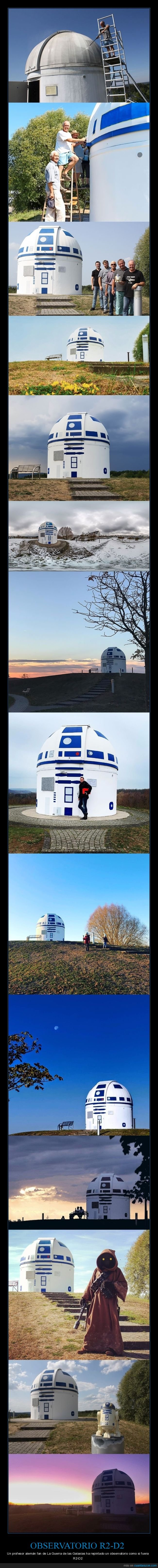 observatorio,r2 d2,star wars