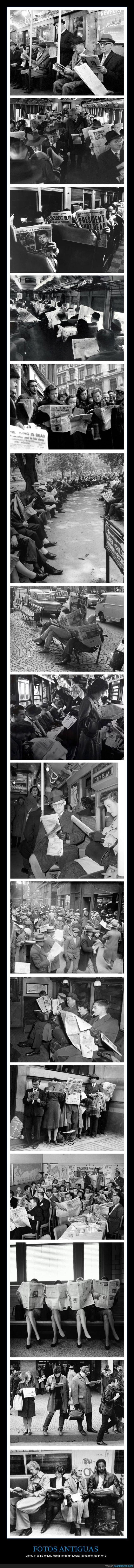 antisociales,fotos antiguas,periódicos,retro