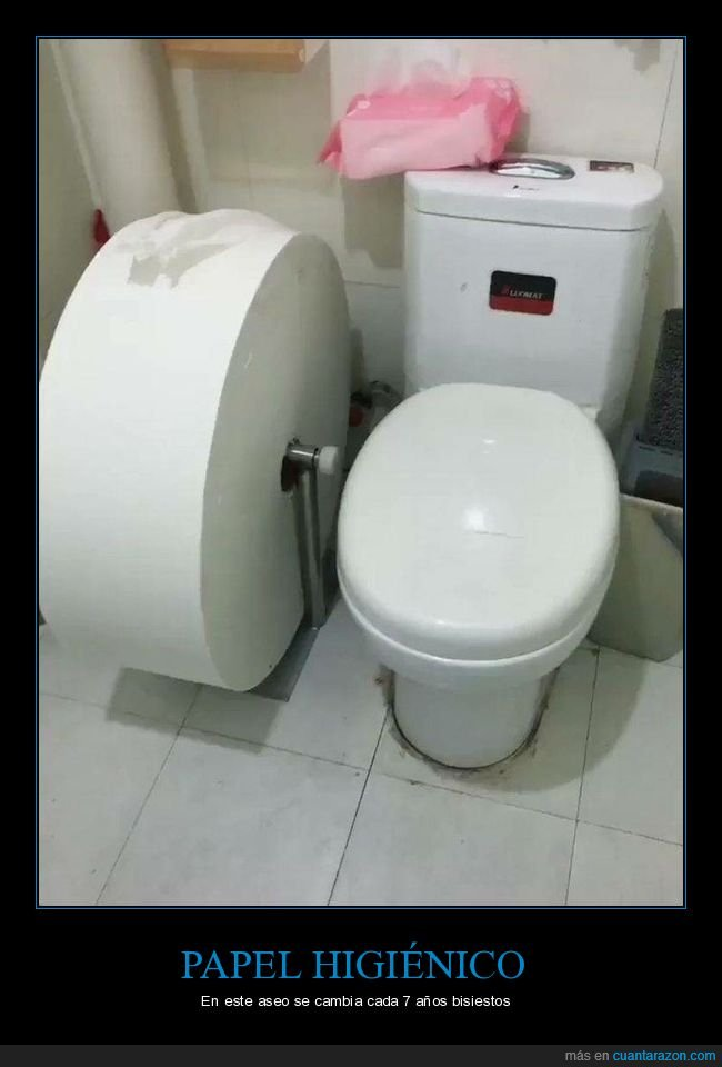 aseo,gigante,papel higiénico,rollo
