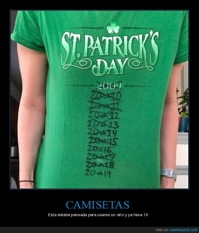 2009,2019,años,camiseta