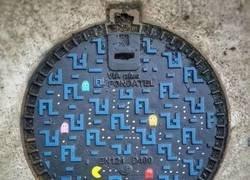 Enlace a Alcantarilla Pac-Man