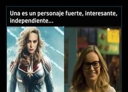 Enlace a Brie Larson vs Brie Larson