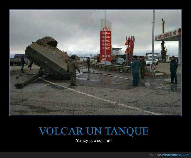 tanque,volcar,wtf