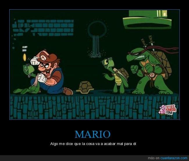 mario,tortugas,tortugas ninja