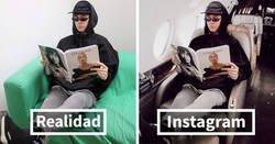 Enlace a Este chico de 19 años finge llevar una vida de lujo para hacer un experimento en Instagram