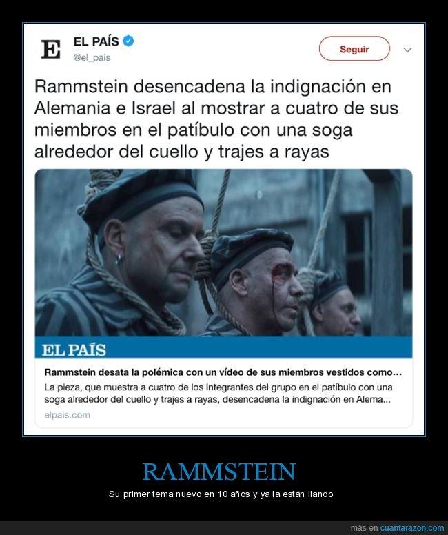 alemania,deutschland,indignación,israel,rammstein