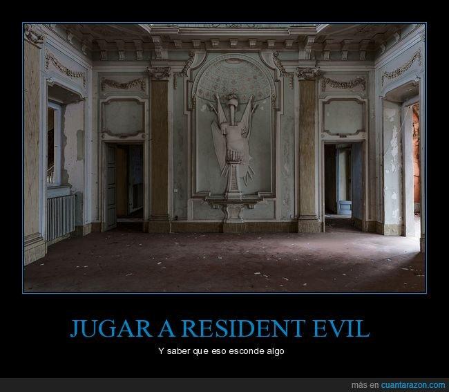 esconder,mansión,resident evil