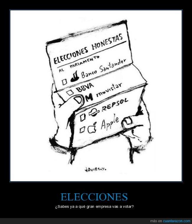 elecciones,empresas,honestas