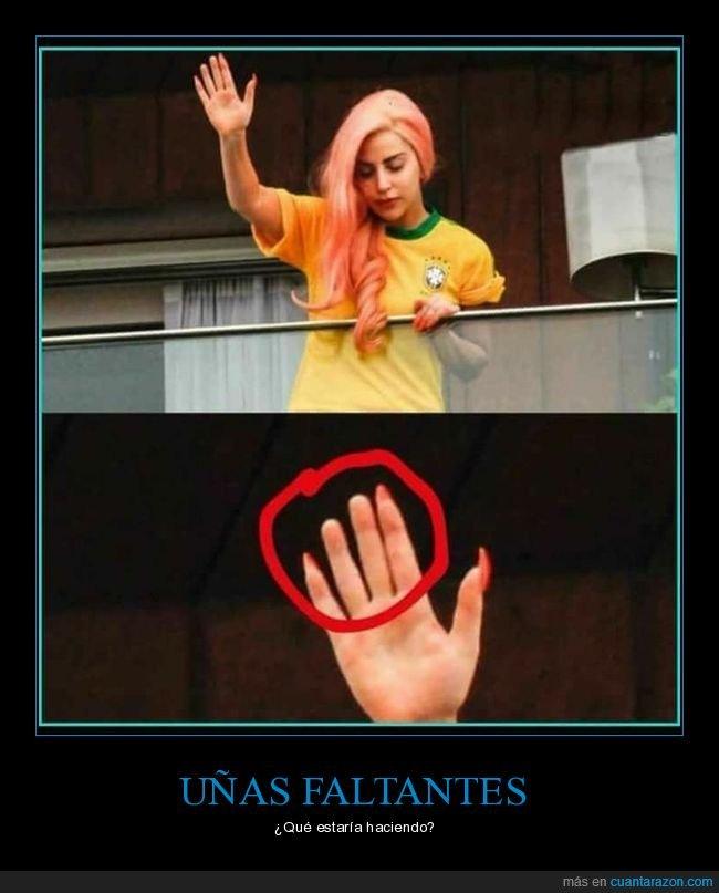 dedos,saludando,uñas,wtf