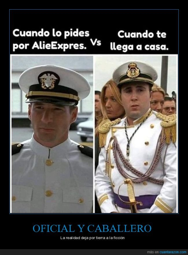 aliexpress,expectativas,paquirrín,realidad,richard gere