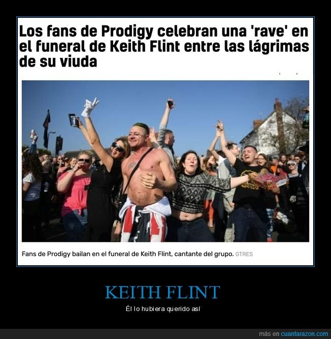 funeral,keith flint,rave,the prodigy