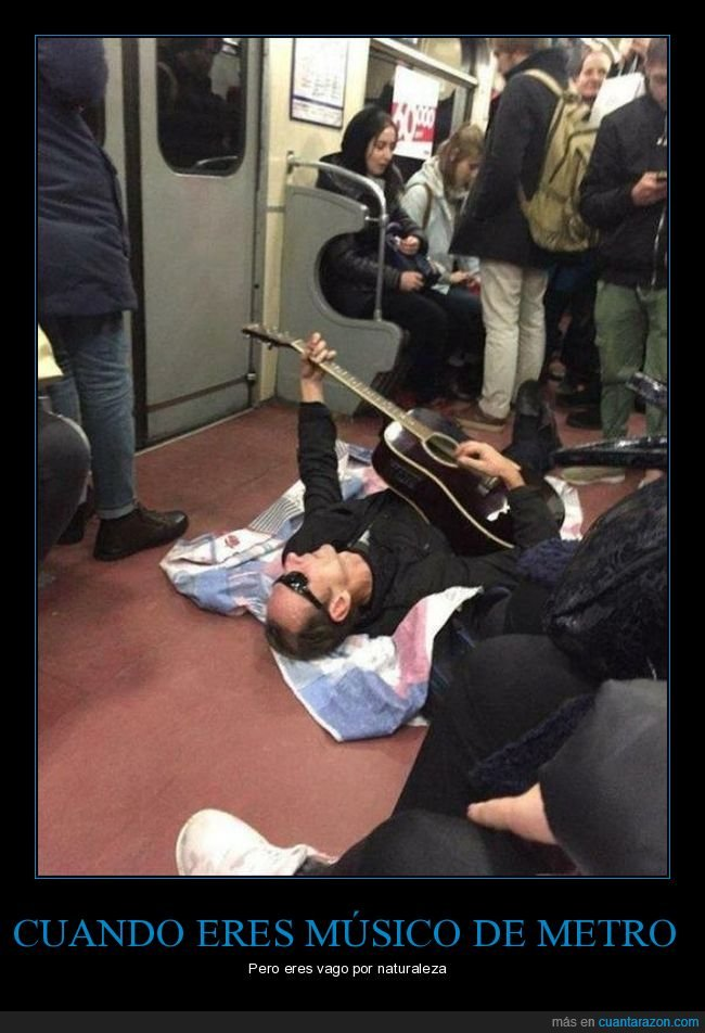 metro,músico,tirado,vago,wtf