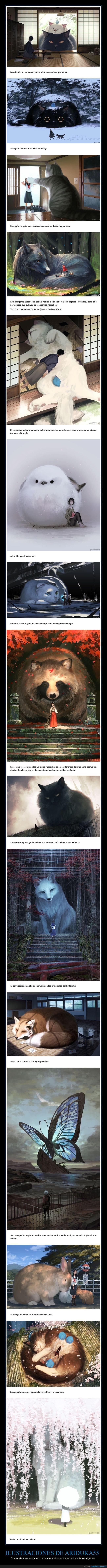 animales,ariduka55,gigantes,ilustraciones