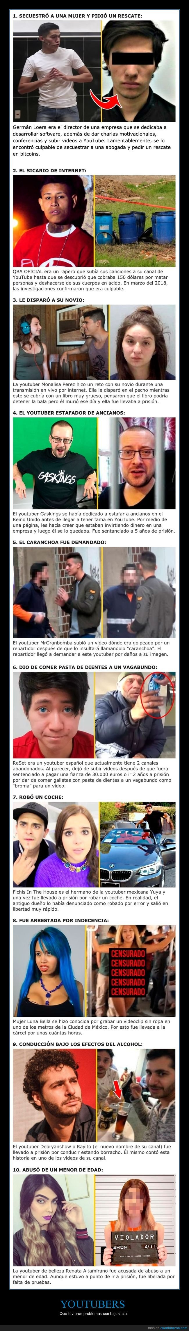 justicia,youtubers