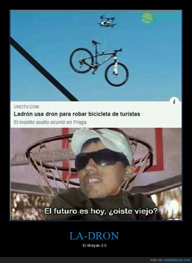 bicicleta,dron,ladrón,robar