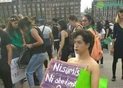 Enlace a Aliado feminista
