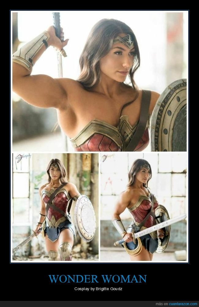 brigitte goudz,cosplay,wonder woman