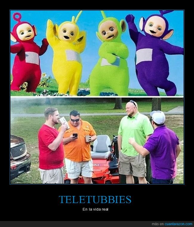 parecidos,teletubbies,wtf