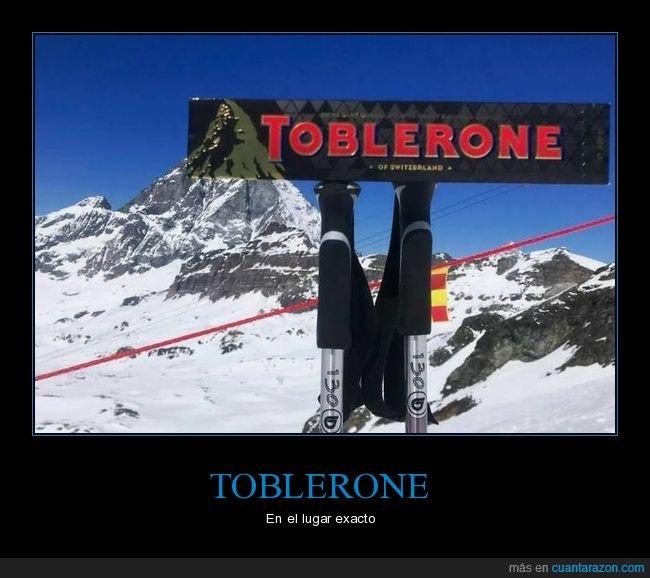 lugar exacto,montaña,toblerone