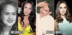 Enlace a Fotos del antes y el después de algunos famosos