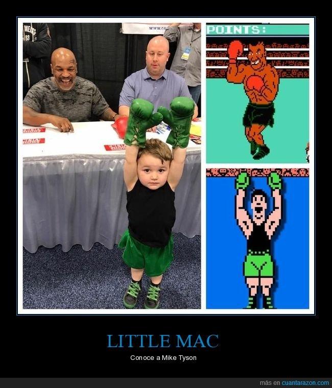 disfraz,little mac,mike tyson,niño,videojuego