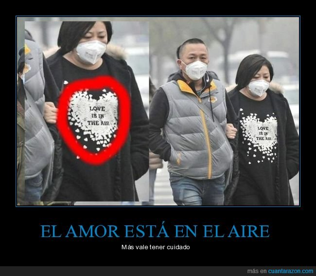 aire,amor,camiseta,love is in the air,mascarilla