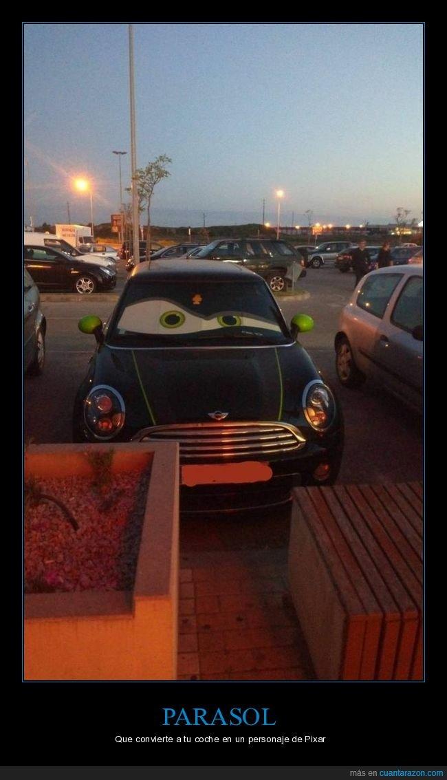 cars,coche,parasol