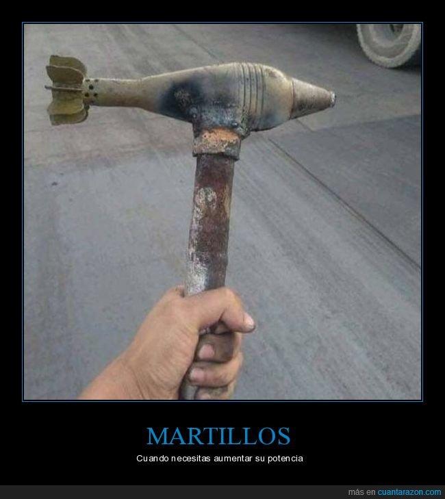 martillo,proyectil,wtf